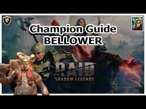 RAID Shadow Legends - Bellower Champion Guide