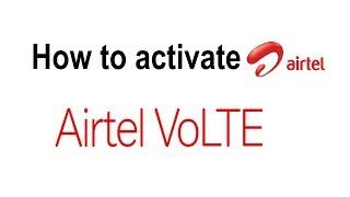 How to get airtel volte - Airtel VoLTE beta program