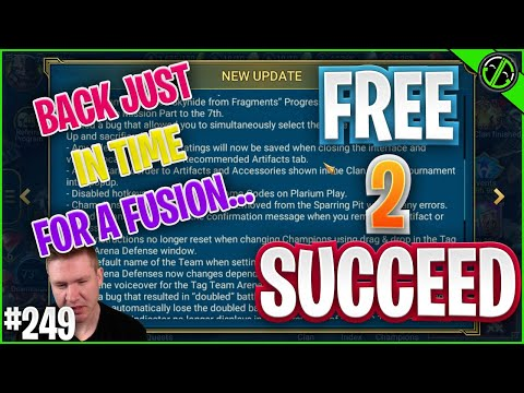 We're BACK!! And Just In Time For A FUSION YAAAAY | Free 2 Succeed - EPISODE 249
