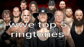 Top 5 ringtones
