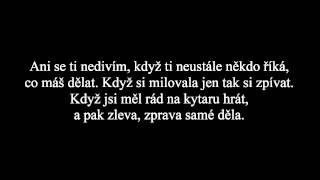 Revolta ft Olga Lounová - Znáš ten pocit (Lyrics - HD)