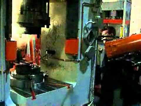Robot Otomasyonlu Sıcak Dövme Presi - FPM Group - Dimas Makine
