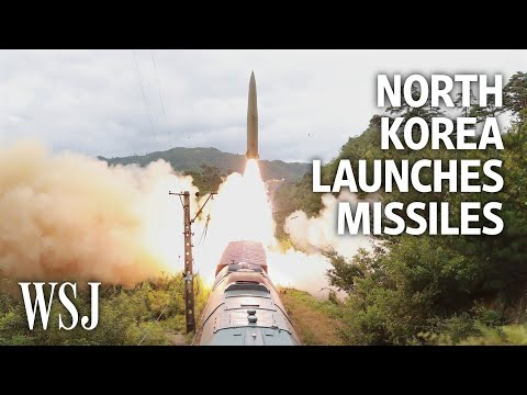 North Korea Launches Missiles From Trains, Seeking U.S. Attention   WSJ – Wall Street Journal (YouTube)