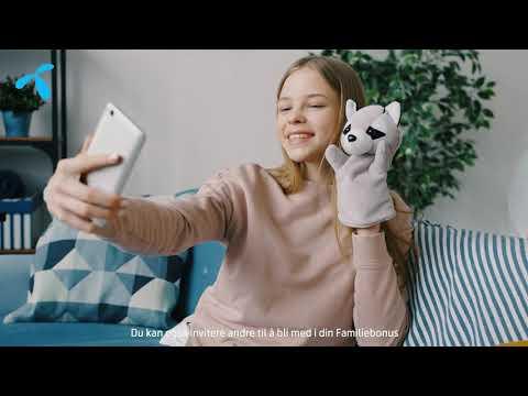 Familiebonus – få ekstra data hver måned, uten ekstra kostnad   Telenor Norge