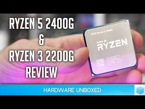 Ryzen 5 2400G & Ryzen 3 2200G Review, More Benchmarks Than You Can Handle!