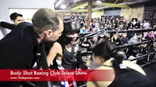 Noche de boxeo en Body Shot Boxing Club