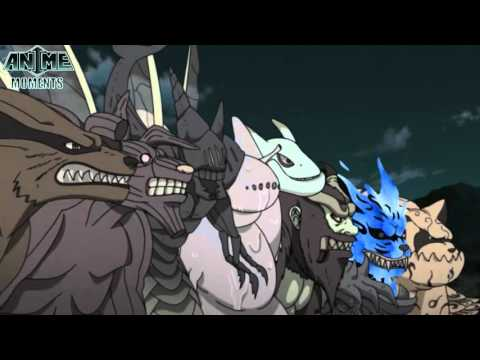 Ten Tails vs Nine Tailed Beasts - Naruto Shippuuden Chords ...