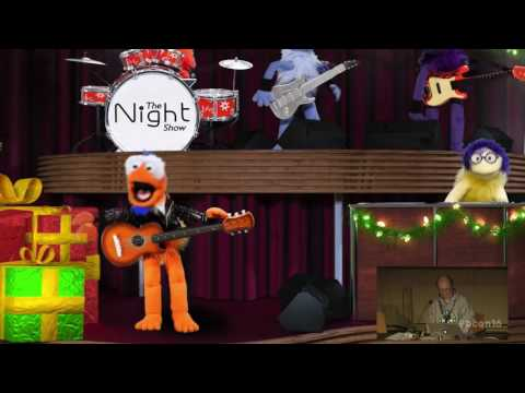 Live puppets in a 3D universe
