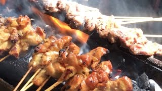 Malay-Indon Satay Fires Up The Appetite @  KL's Chow Kit Market !