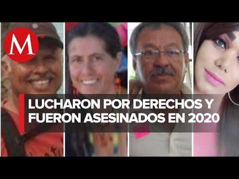 En México, 14 activistas ambientales y trans fueron asesinados en 2020
