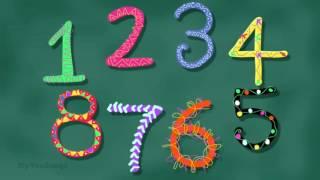 Canción de los números | Count the beats in Spanish