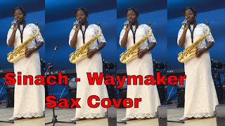 12 year old Saxophonist  Alice ministers @ rccg Conference - Sinach Waymaker. Gospel Music