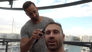 Mike (Dom Mazzetti) Shaves MY HEAD! width=