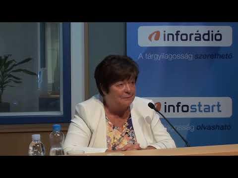 InfoRádió - Aréna - Pálffy Ilona - 2. rész - 2020.08.28.