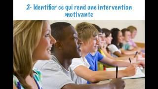 Stimulez l'envie d'apprendre et la motivation à travailler