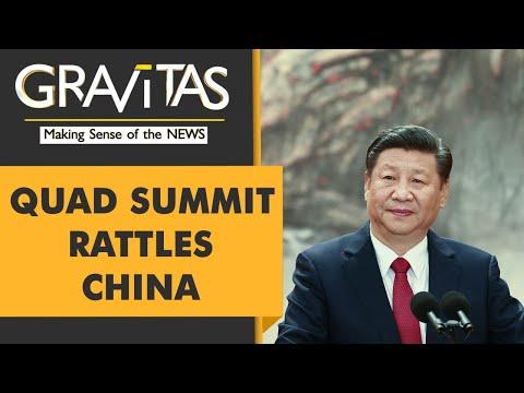 Gravitas: In-person QUAD summit spooks China