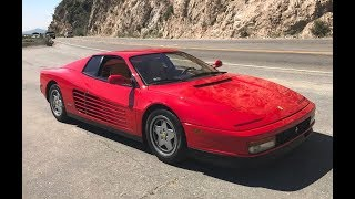 1991 Ferrari Testarossa – One Take