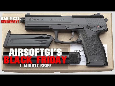AirsoftGI Black Friday Deals In Under 60 Seconds! | AIRSOFTGI.COM