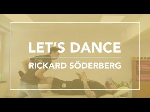 Rickard Söderberg från Let's Dance besöker Skandinaviska Kiropraktorhögskolan.