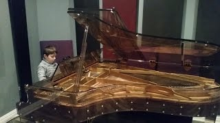 Lawrence Playing C Jam Blues