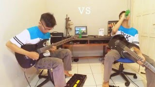 Dragon Force - Through Fire and Flames solo cover by Ars Ten From Indonesia