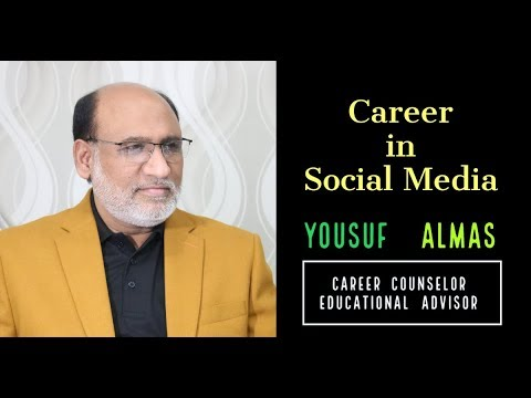 Career in Social Media in Pakistan by Yousuf Almas