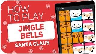 How to play: JINGLE BELLS (Santa Claus) - SUPER PADS - Kit Santa