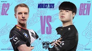 [PL] Worldsy 2020 | G2 vs Gen.G | BO5 | ćwierćfinał | Mistrzostwa Świata w League of Legends 2020