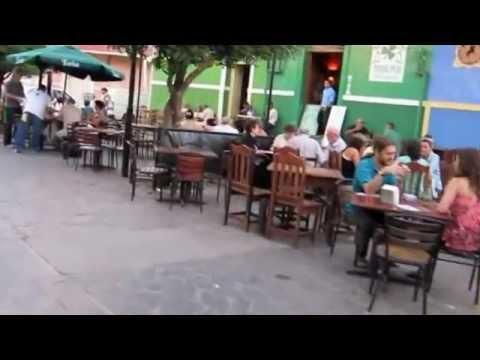 A walk down La Calzada in Granada Nicaragua