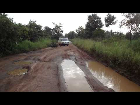 Road from Juba to Yei in South Sudan Africa 11