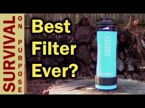 The Lifesaver Liberty Water Filter Bottle Is Going In My Survival Kit