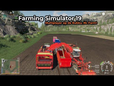 Farming Simulator 19 -- Opname 16/07/2019