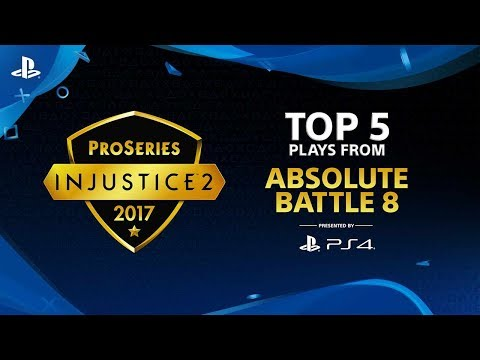 Injustice 2 – Top 5 Plays from Absolute Battle 8 | PS4
