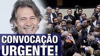 Ator Nelson Freitas faz convocação urgente contra 'bolsa-político' de R$3,6 bilhões: 'Chega de can..