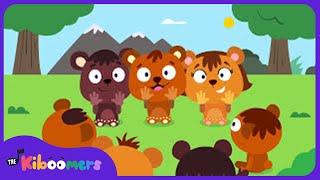 Make a Circle Song for Kids | Make a Circle Big Big Big Song | The Kiboomers