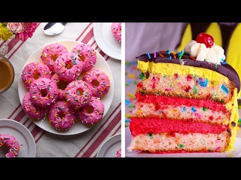 10 Awesome DIY Homemade Dessert Recipe Ideas | Cake Recipe & Dessert Ideas by So Yummy