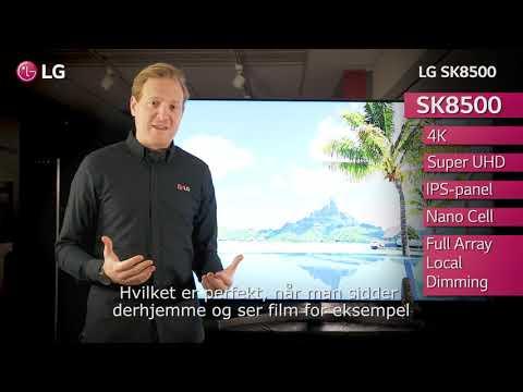LG SK8500 - Dansk text