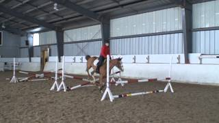 Penny Lany jumping