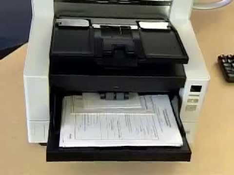 Kodak i4600 Scanner   Mixed financial documents with control Preview