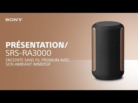 Découvrez la enceinte sans fil premium SRS-RA3000 de Sony