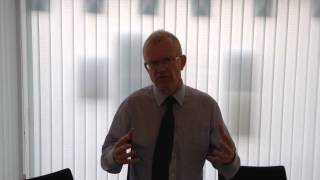John Mason MSP Weekly Video Blog - September 5th - Training, Benefits & the Indyref