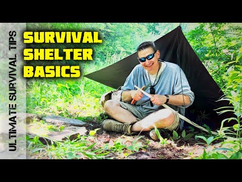 Solo - UltraLight Camping / Survival Shelter: Military Poncho - Plow Point Tent