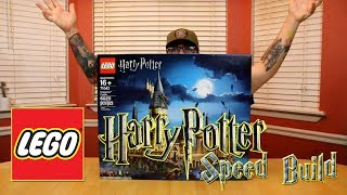Lego Harry Potter Hogwarts set 71043 speed build