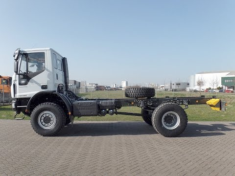iv3913 - Iveco Eurocargo ML150E24WS 4x4 chassis - NEW