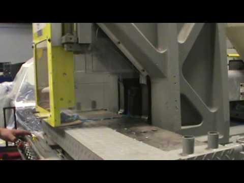 75 Ton, 6.5 oz. Newbury Shuttle Injection Molding Machine