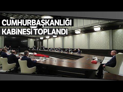 Kritik Kabine Toplantısı Cumhurbaşkanı Erdoğan Başkanlığında Başladı