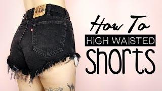 DIY High Waisted Shorts!   by tashaleelyn