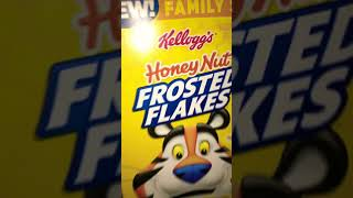 Food Review: Honey Nut Frosted Flakes Cereal