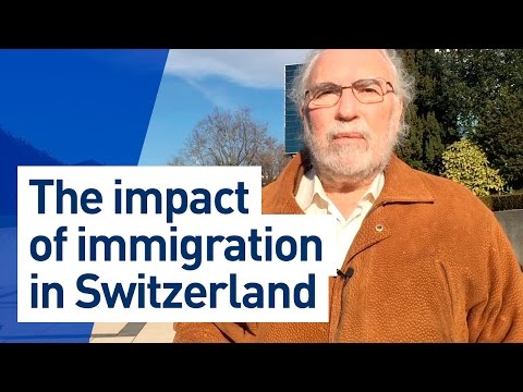 The impact of immigration in Switzerland