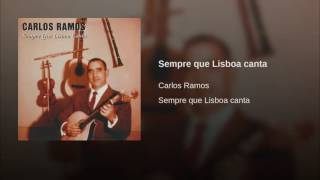 Sempre que Lisboa canta